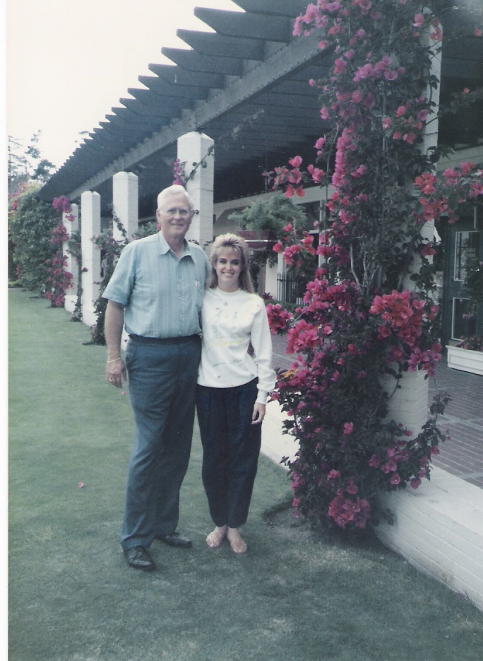Ray & Lisa - Pebble Beach, CA - 1987